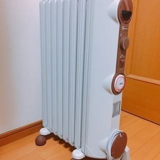 オイルヒーター、ほぼ新品
