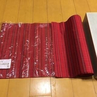 新品未使用 反物 美の路上代紬 紬 趣味のきもの オシャレウール...