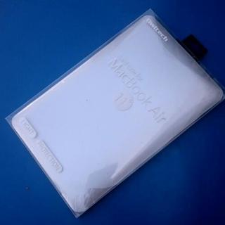ハードカバー シルバー◆MacBook AIR[OWL-CVMB...