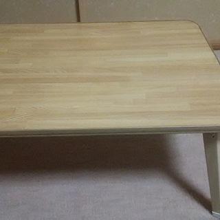 ミニテーブル(折り畳み式)訳あり