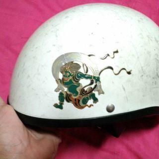風神テールダウン型バイク ヘルメット