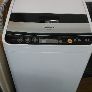 乾燥機能付き洗濯機六キロの画像