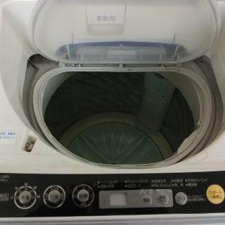 乾燥機能付き洗濯機六キロ - 家電
