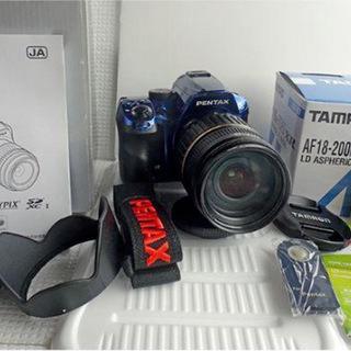PENTAX K-30+18-200mmレンズキット保証付新品級