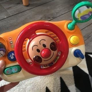 アンパンマンドライブおもちゃベビーカーにも