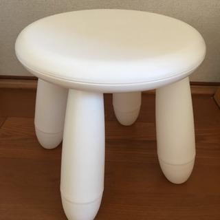 《終了》子供用椅子:IKEA MAMMUT マンムット 子供用ス...