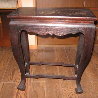 エスニック サイドテーブル 47X40X22cm