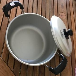 鍋 蓋つき ガスコンロ用 直径23cm
