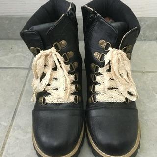 【OLLINKARI】キッズ  春 ブーツ 21cm