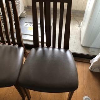 無料 椅子 4脚 あげます
