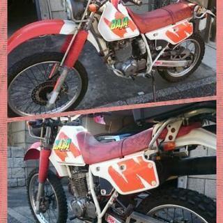 XLR 250 BAJA 1990年式 エンジン絶好調!!