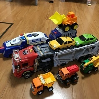 車のおもちゃまとめセット