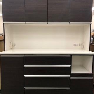 食器棚 キッチン棚 レンジ台 収納抜群 高さ200cm 分割可能