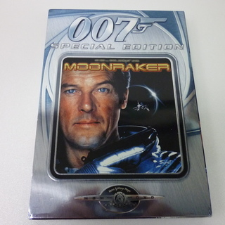 DVD  007ムーンレイカー ロジャームーア  美品 ※値下げ