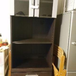 食器棚 ニトリ レンジ炊飯器台