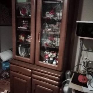 食器棚 無料 0円