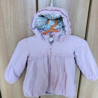 H&M ピンク系女の子ジャケット サイズ90?