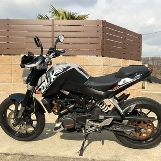 KTM DUKE 125 中古バイク