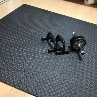腹筋ローラー 自宅トレーニングセット