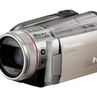 パナソニック デジタルハイビジョンビデオカメラ シルバー