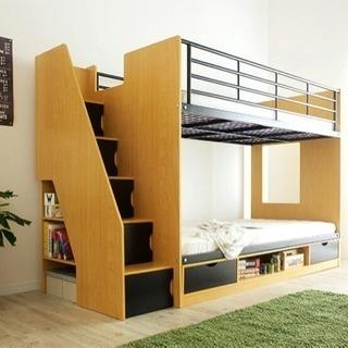 上り下りが取引中です…楽しい!階段付2段ベッド bunk bed ...