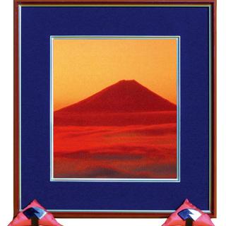 縁起の良い赤富士