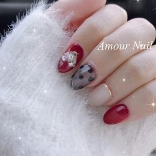 【Amour Nail 】 新規様☆オフ無料☆ 【初回限定価格】