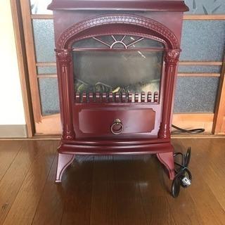 美品☆暖炉風 ヒーター
