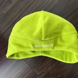 モンベル  冬用帽子