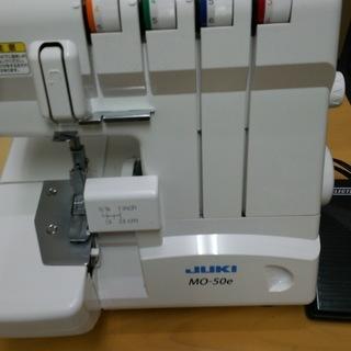 JUKI ロックミシン MO-50e ジャンク品