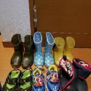 靴、長靴6足セット‼️