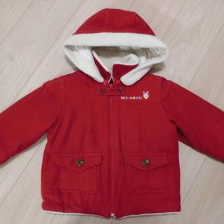 真っ赤な可愛いコート☆ミキハウス☆100サイズ