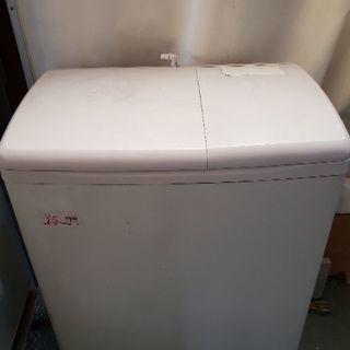 日立の2槽式洗濯機 作業服の洗濯などに