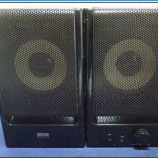 PCスピーカー MM-SPWD6-BK サンワサプライ