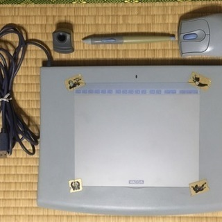 ペンタブレット  インテュオス  Intuos2 i-620  ソフト付