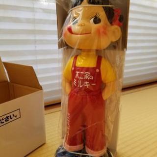 【値下げ】不二家創業100周年記念復刻版ペコちゃん人形