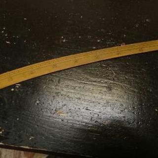 洋裁用品 カーブ尺実目 60cm 木製