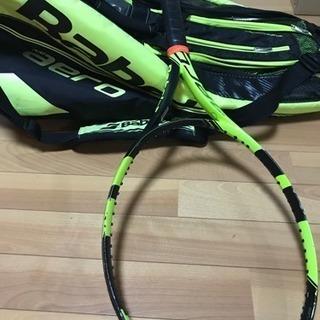 テニスセット babolat ラケバandラケット