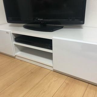 テレビボード 白 美品