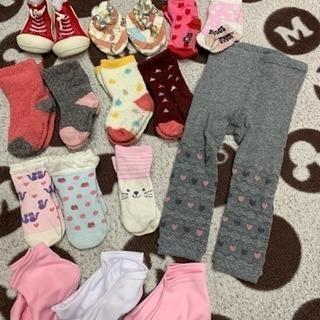 女の子用靴下・タイツまとめて500円