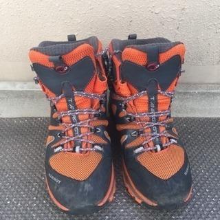 登山靴マムート23.5cm