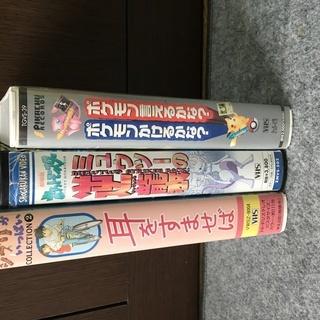 ポケモン/ジブリ VHS ビデオ 計3本