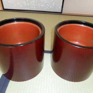 丸火鉢 2個組