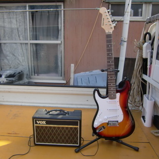 入門クラスエレキギター 中古 一式