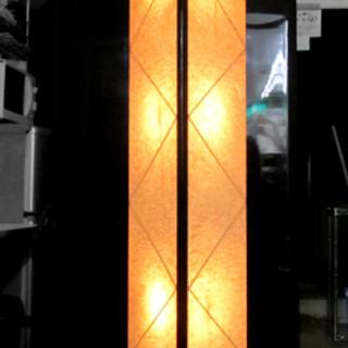 和風フロア照明 ギャラリースタンド 壁面タイプ 店舗照明にも 西宮の沢