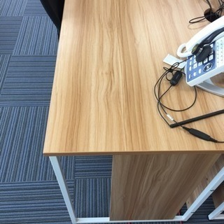 デスク1200×600×720 袖なし机