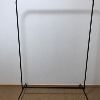 【IKEA】ハンガーラック黒・白