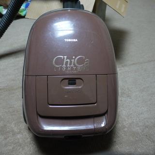 東芝 掃除機 ChiCa 吸い込み3段 畳/絨毯切り替えヘッド...