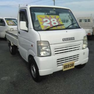 キャリィトラック★四駆切り替え式4WD ★エアコン、バワステ付き