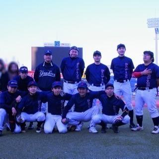 草野球新メンバー募集中、豊島区本拠地、外野手メイン